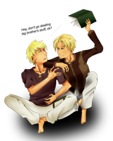 SS - brothers by ScytheDancer