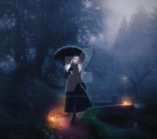 ...Melancholy rain! by spaceibiza1313