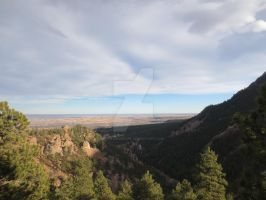 Boulder from Flagstaff Mountain 1 by Collidoscope
