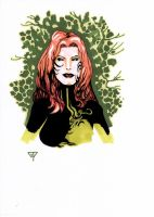 Poison Ivy Bust 1 cleaned version by guillomcool