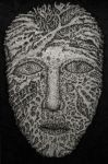 abstract face by koffski93