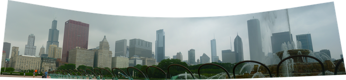 Chicago at Buckingham Fountain by pokeyourheadoff