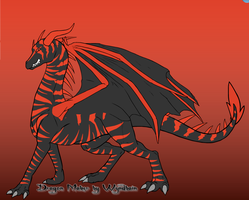 Blight on Dragon Maker by ShadowtheWingedWolf
