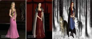 My 3 Favorite Horror Girls In Game Of Thrones by Normanjokerwise