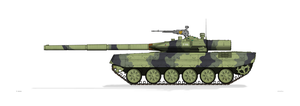 T-90K Czech Army by MacPaul