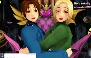 The Totally 124th Question~! by Ask-MMD-Poland
