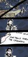 Alan Wake Heard the Chainsaw by ConchobarII