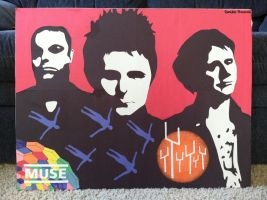 Muse Poster by originofemilie