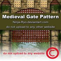 PS6 PATTERNS - Medieval Gate by Ninja-Ryo