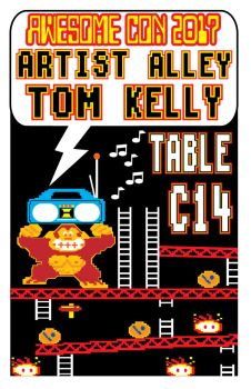 promo kong Awesome con 2017 by Tom Kelly by TomKellyART