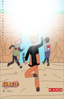 Possible Naruto final chapter cover by joey2132132