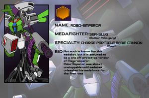 robo emperor medadex by NCH85