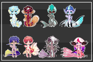 FlareCrab Fish Auction Collab [#2 is OPEN] by flarechess