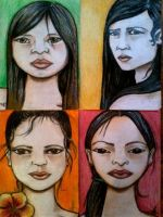 Four faces! by Kaayia