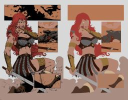 red sonja Flats by alexasrosa