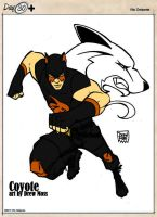 (Public Domain Superheroes) Coyote by midnightowl07