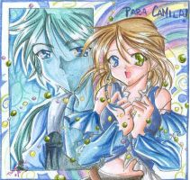 Yuna and Tidus for Camila by tatah