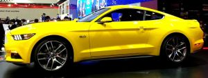 Yellow Mustang 5.0 by toyonda