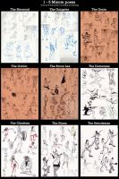 9 Gesture Drawing Classes by Cerberust