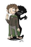 Frodo Baggins by moomadesign