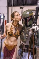 A Kiss for Boba Fett by Sheikahchica