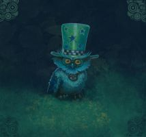 Barnabus with hat by P0UL