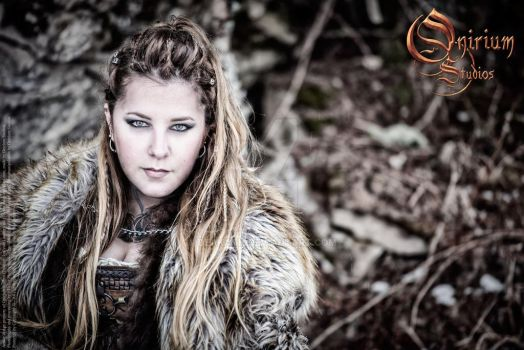 Viking inspired female set - photoshoot 2017 - 3 by Deakath