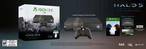 Halo 5: Guardians Limited Edition Console Fan-made by DANYVADERDAY
