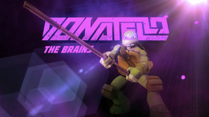 Donatello: The Brains by Brandatello