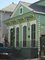 New Orleans Building 5 by Kizzarina