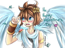 [Kid Icarus] Happy Valentine's Day~ by Daiisuke