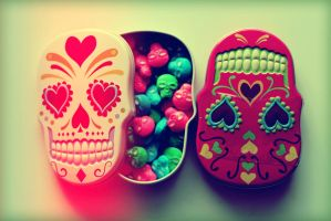 Sugar Skulls 1 by Rana-Rocks