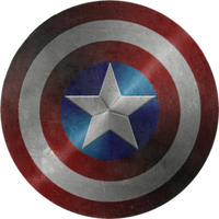 Battle damaged Captain America Shield 2 by KalEl7