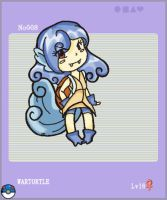 Number 008: Wartortle by x-asuna-x