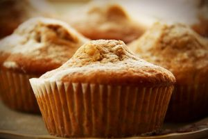 Apple muffins with cinnamon and honey I by faithkata
