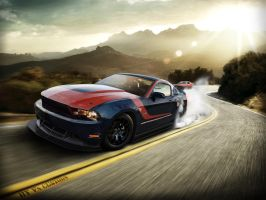 Ford Mustang GT by V8-Custom-Designs