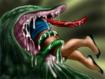 vore horror color 1 by MOLD666