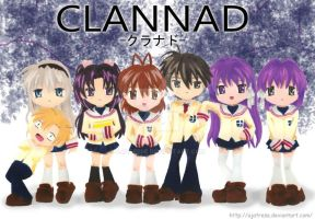 Clannad by AjAtrese