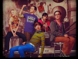 The big bang theory Wallpaper by HappinessIsMusic