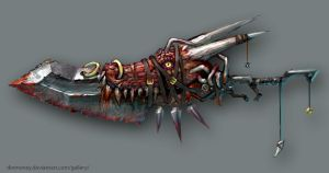 monster hunter great-sword by dinmoney