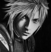 Cloud Strife by Maggy-P