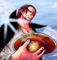 Shanks and a Straw Hat by Hitotsumami