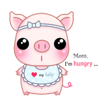 Baby piggy by tho-be