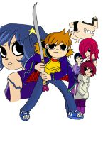 Scott Pilgrim volume 6 by twinny0girl