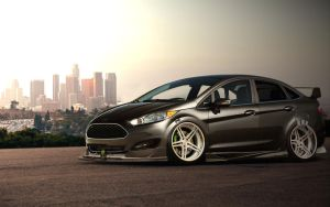 ford fiesta by marcelokedak