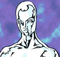 Silver Surfer by dalmation10k