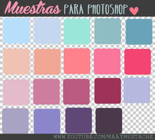 +Muestras para Photoshop by MaayMustache