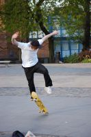 Skater Jump by AlanSmithers-Stock