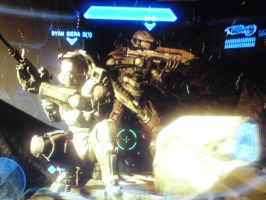 Halo 4 - posing lol by Harvy355