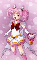 Super Sailor Chibi Moon by CelestialRayna